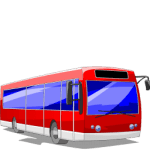 V icons - Vehicles - Bus Red_256x256-32