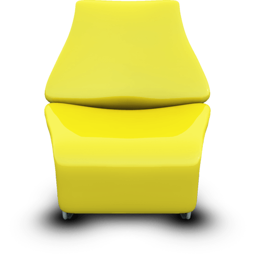 Modern Chairs Icons 512×512 [PNG Files]