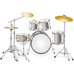 Musical Instruments Icons 256×256 [PNG Files]