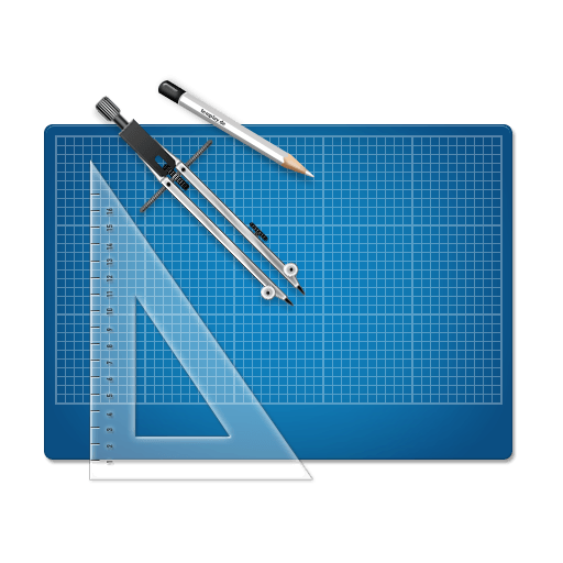 Blueprint Icon 512×512 [PNG Files]