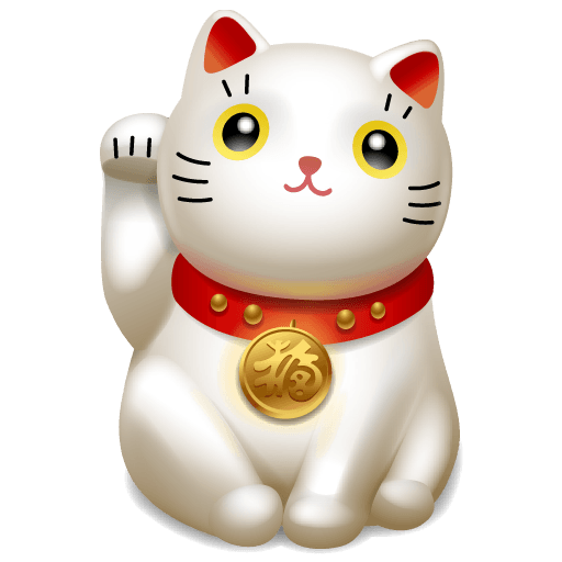 Japanese Cute Cat Icons 512x512 [PNG Files] png