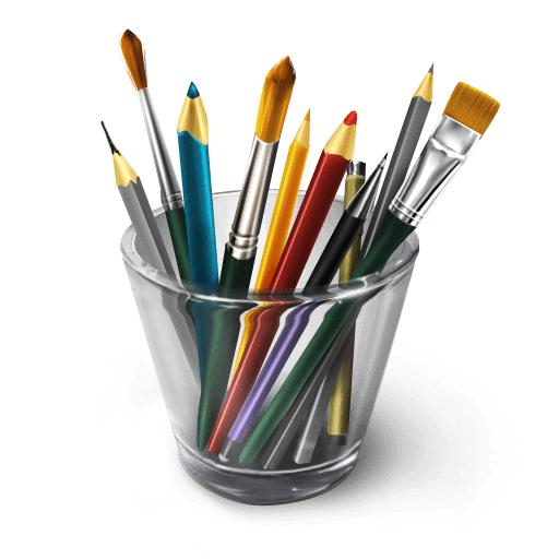 Designer's tools icon 512×512 [PNG File]