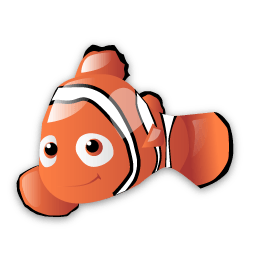 Findin Nemo Vista Icons 256x256 [PNG Files] png