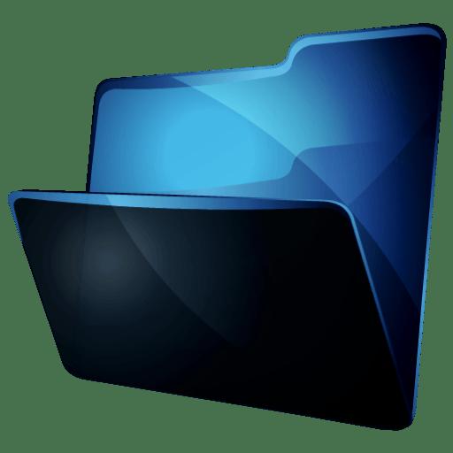 Icons Black on Desktop Black Style Desktop 512&215512