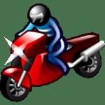 motorcyclist-icon