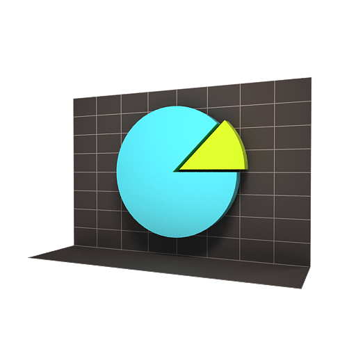 Variety of Chart Curve Icons 512x512 [PNG Files] png