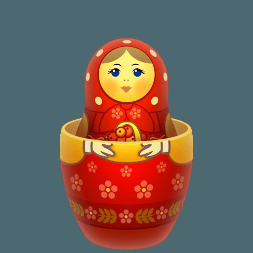 Matreshka Icons 512x512 [PNG Files] png