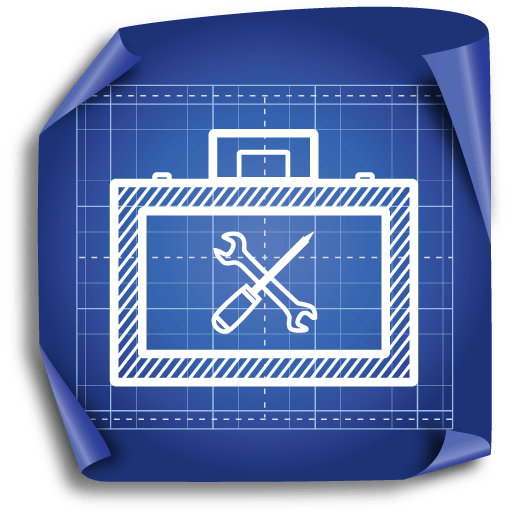 Architecture Blueprint Icon Set 512x512 [PNG Files] png