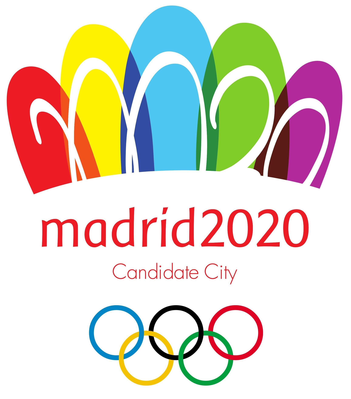 Madrid 2020 Summer Olympics Logo png