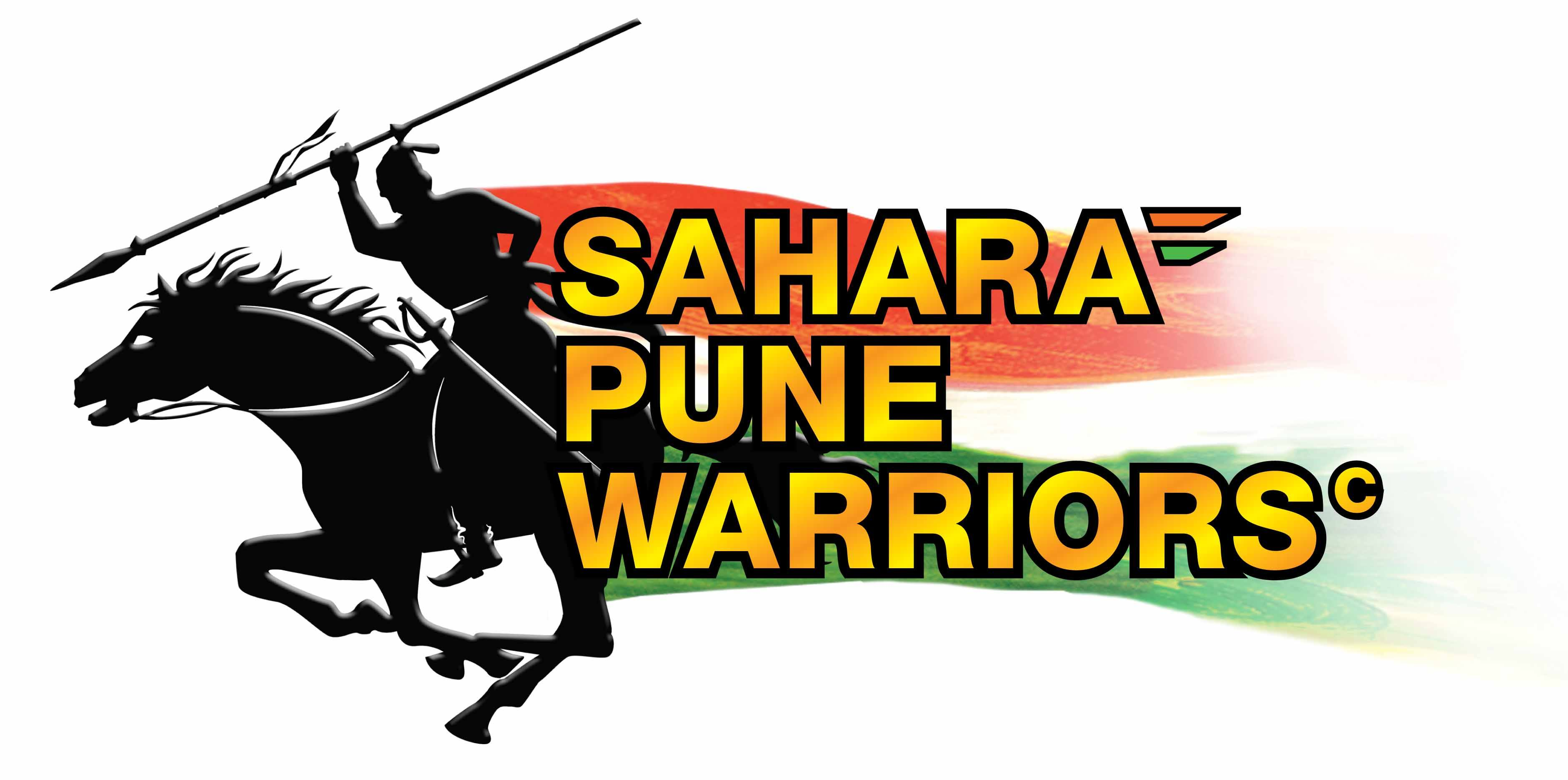 Sahara Pune Warriors Final Logo