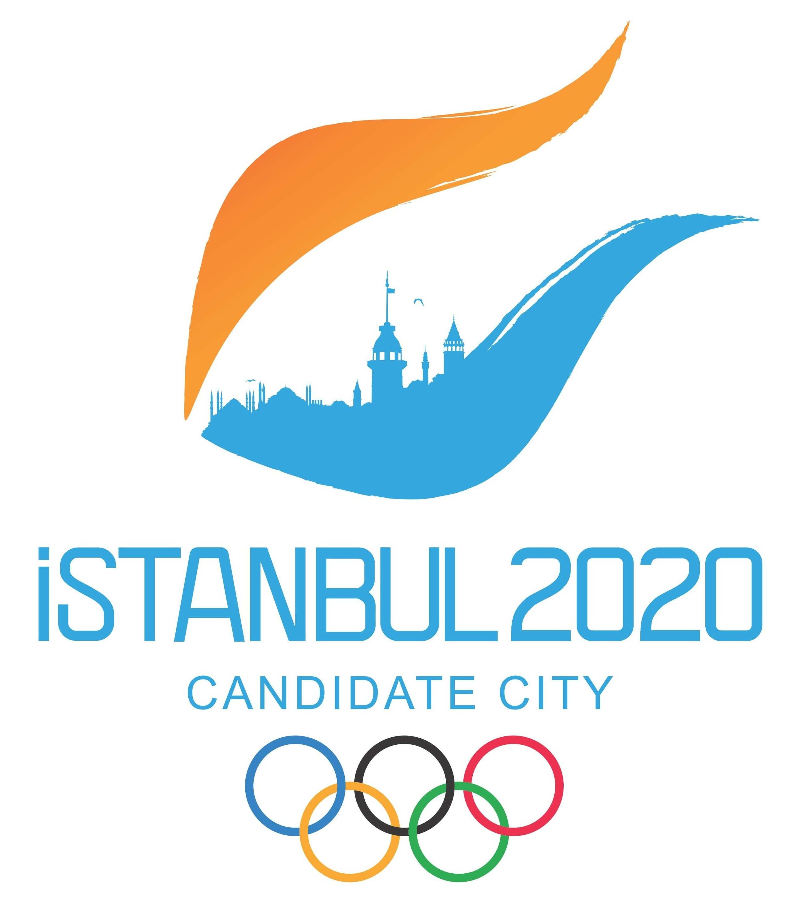 Istanbul 2020 Summer Olympics Logo png