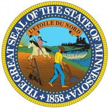 Minnesota State Flag and Seal