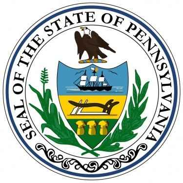 Pennsylvania State Flag and Seal
