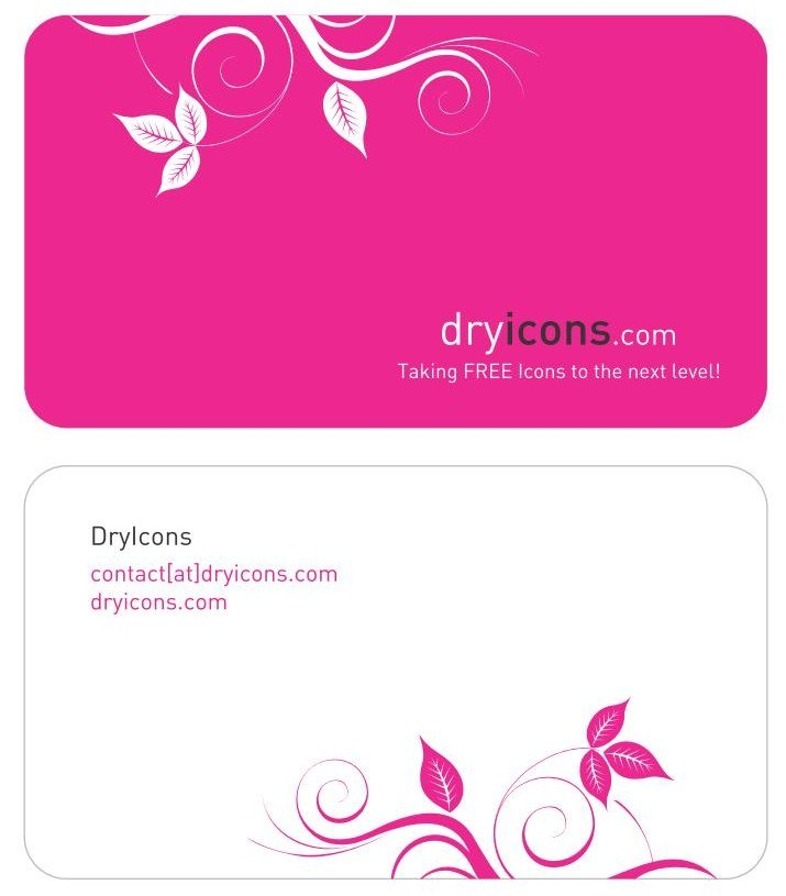 Business Card Template png