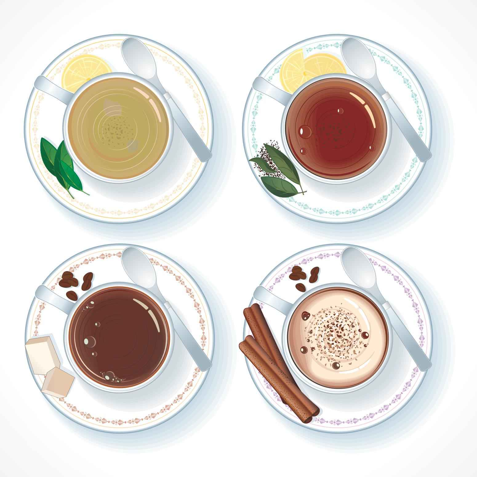 Coffee and Tea png