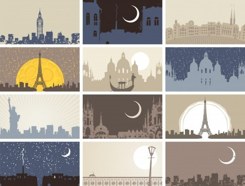 famous_city_landmarks_silhouette_02