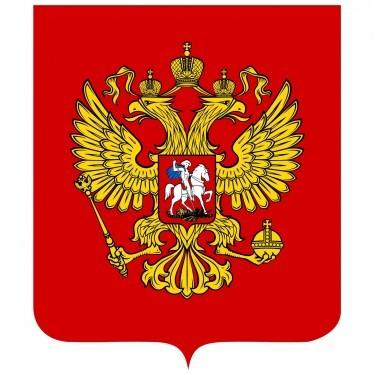 Russia Flag and Emblem