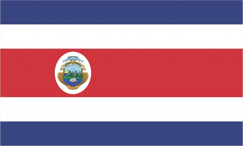 Costa Rica Flag png