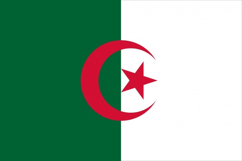 Algeria Flag and Seal png