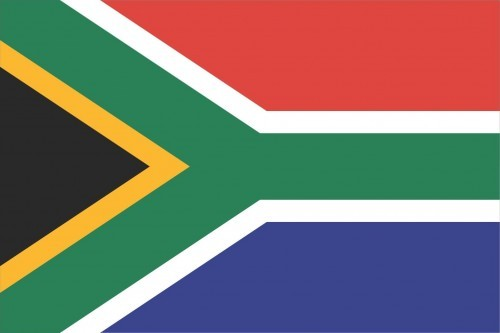 South Africa Flag and Emblem [south african]