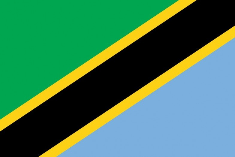 Tanzania Flag and Emblem png