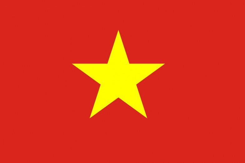 Vietnam Flag and Emblem [Vietnamese] png