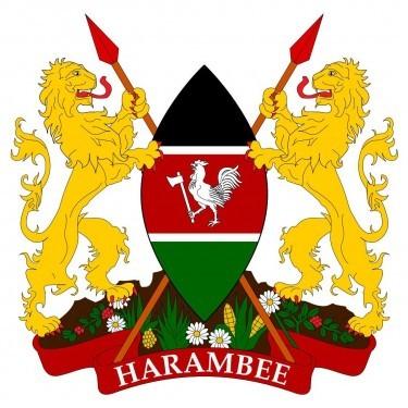 Kenya Flag and Emblem [Kenyan] png
