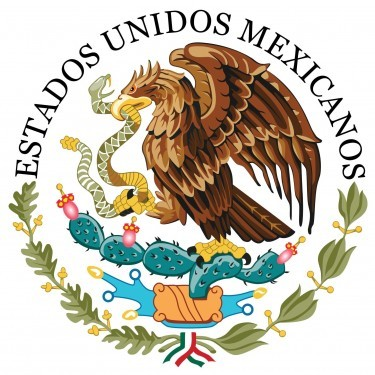 Mexico Flag and Seal [Mexican]