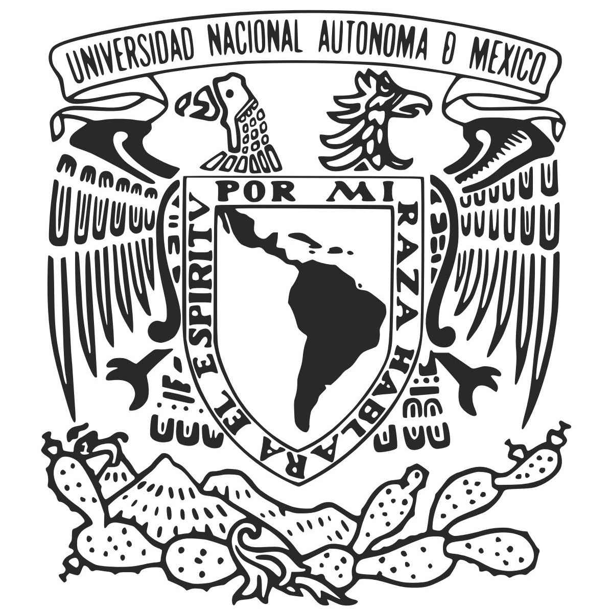 UNAM Logo [National Autonomous University of Mexico] png