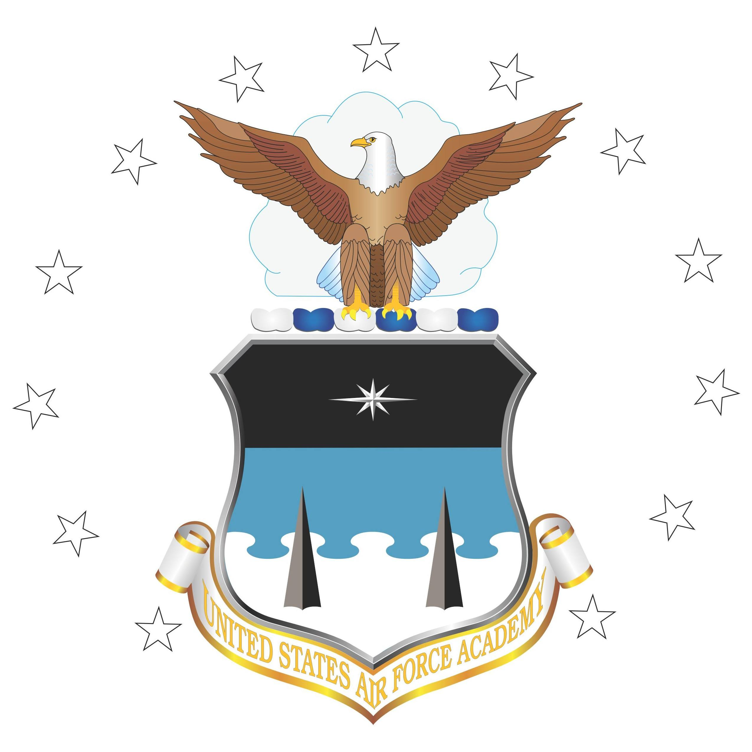 United States Air Force Academy Logo [USAFA   Air Force]