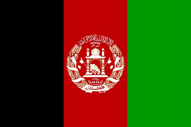 Afghanistan Flag 785x523 vector