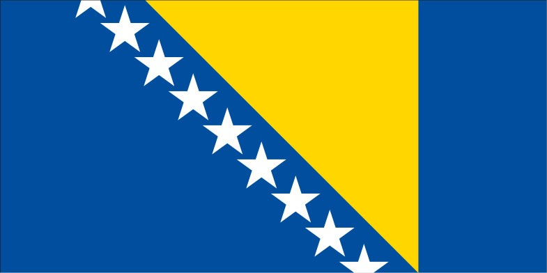 Bosnia and Herzegovina Flag png