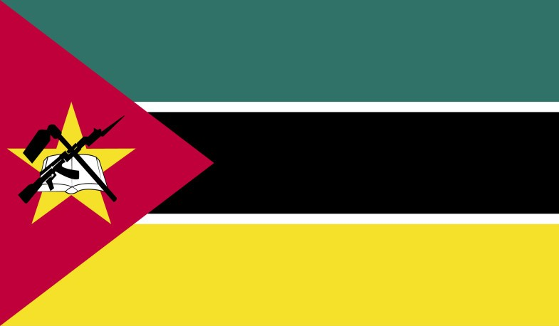 Mozambique Flag png