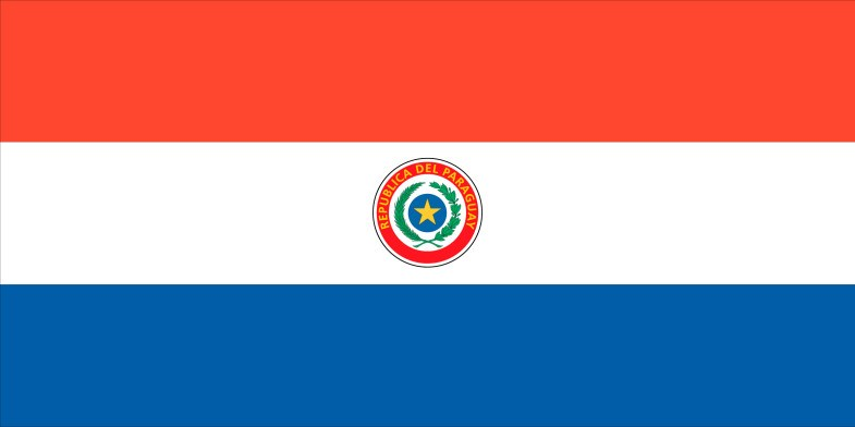 Paraguay Flag png