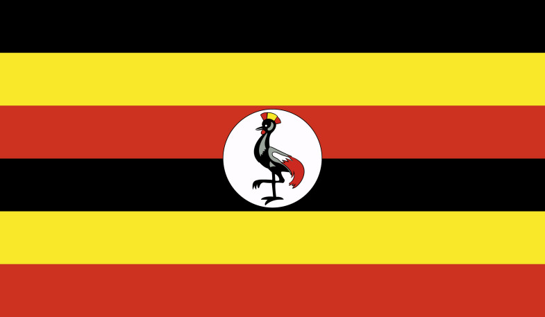 Uganda Flag png