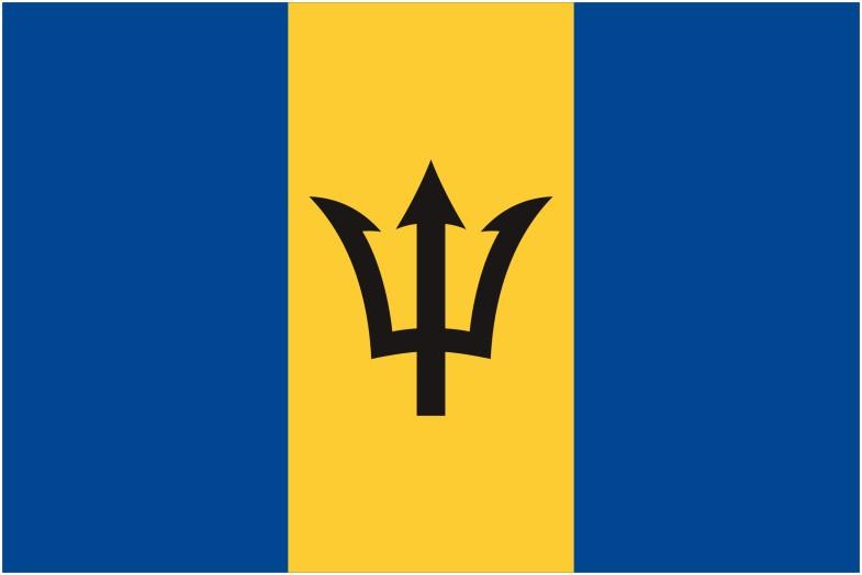 barbados flag 785x524