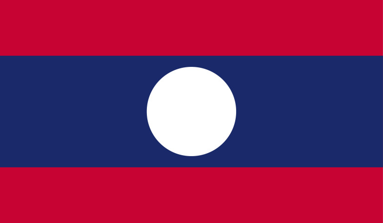 Laos Flag png