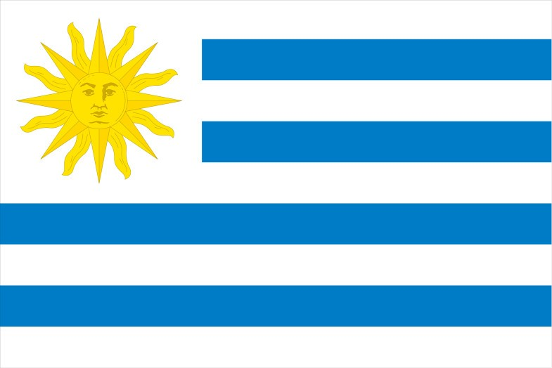 Uruguay Flag png