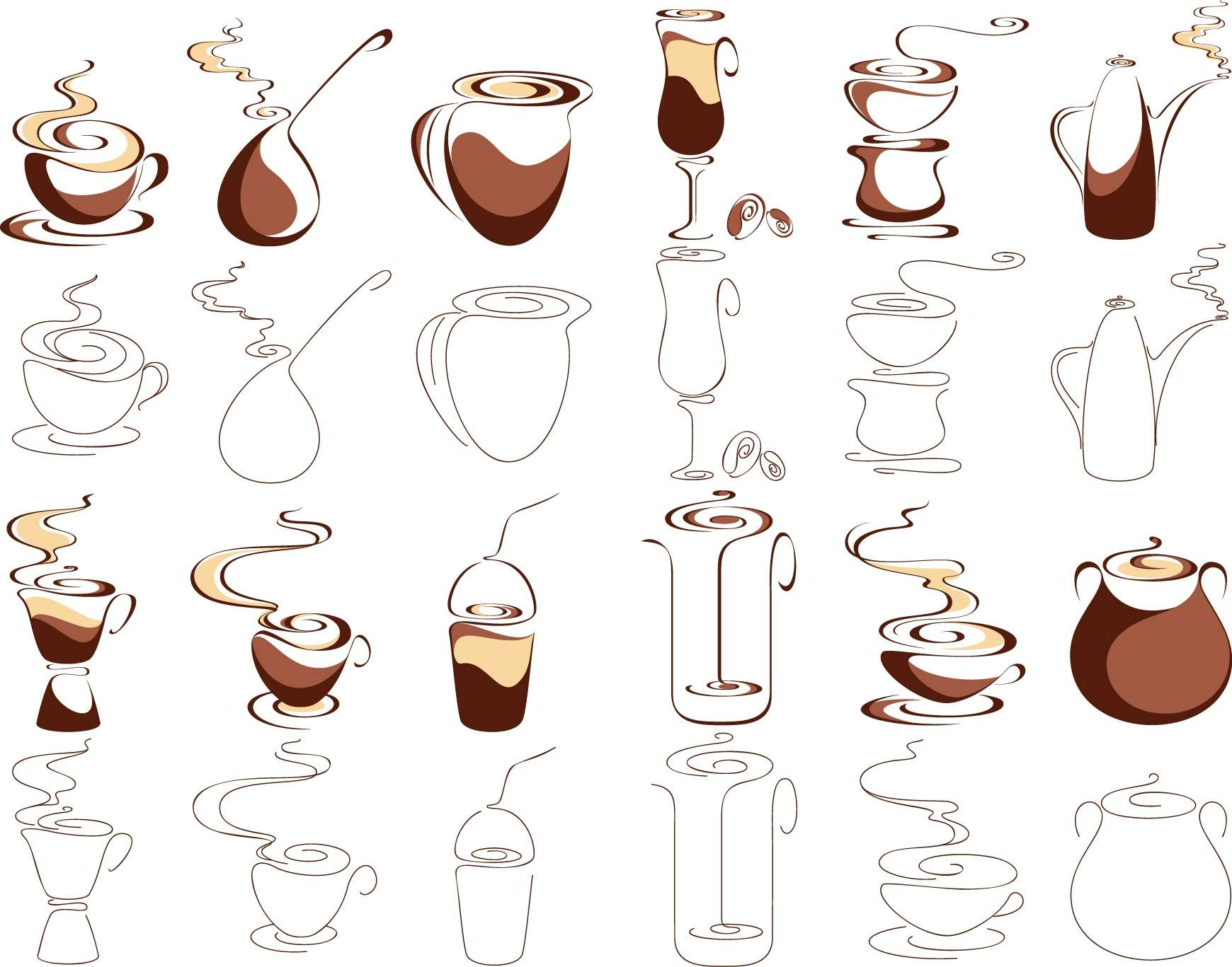 Coffee graphic