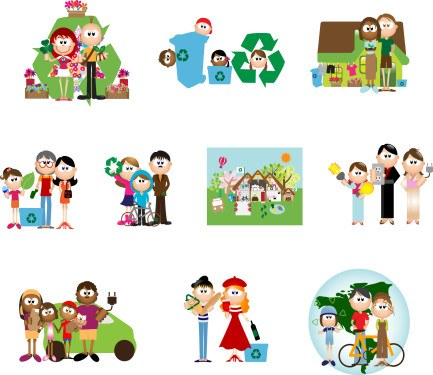 Green-cartoon-characters