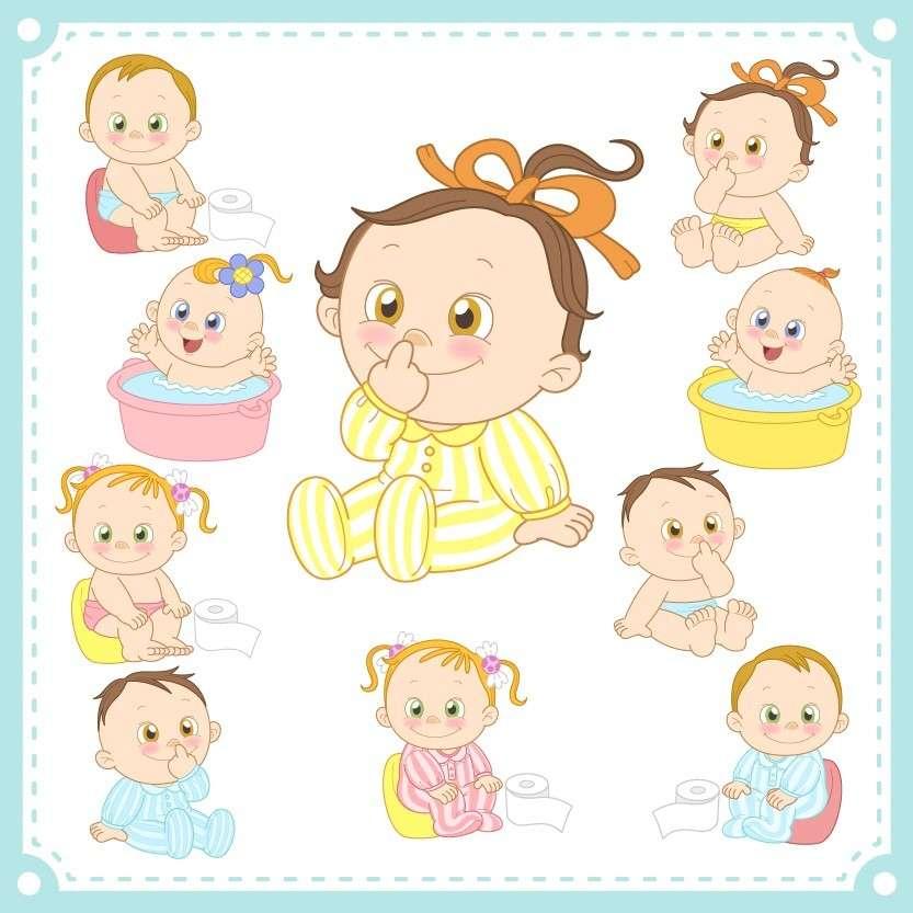 Cartoon Baby, Children, Kids 10 png