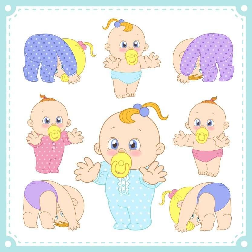 Cartoon Baby, Children, Kids 11 png