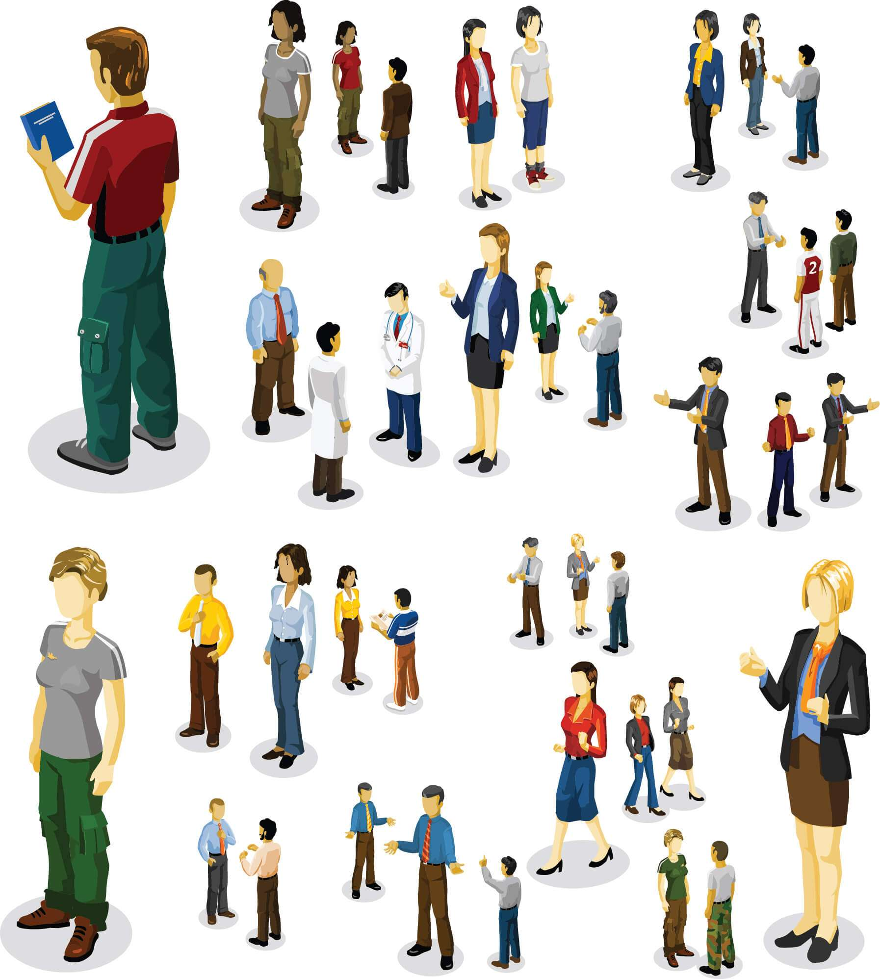 Business People 02 png