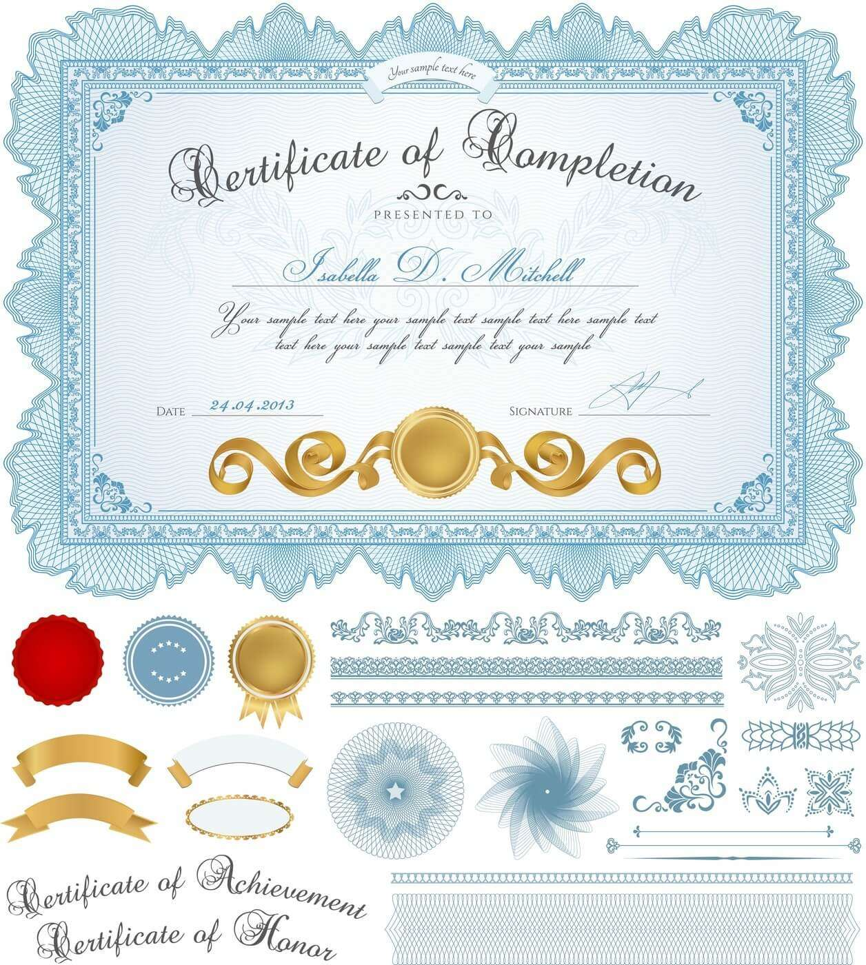 Certificate template 02 vector eps free download logo icons clipart certicate01 yadclub Choice Image