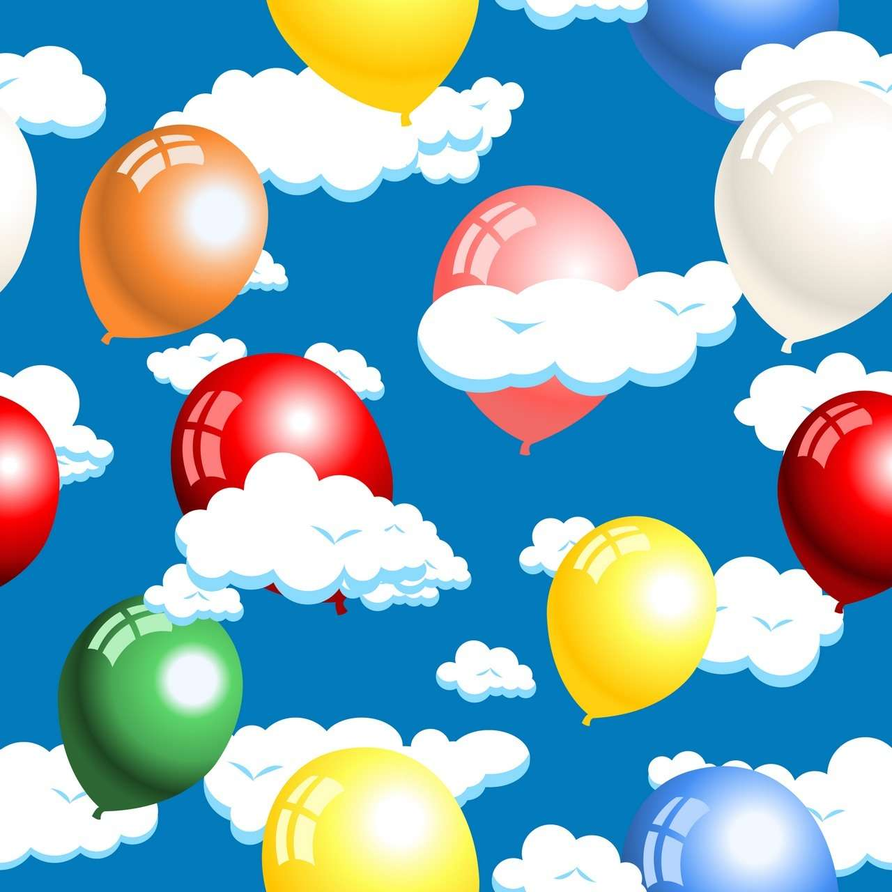Cloud, Balloon Background 01 png
