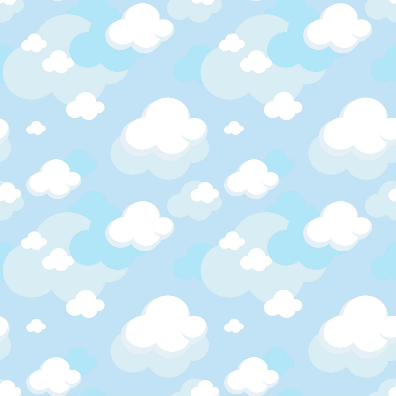 Pattern Cloud Background png