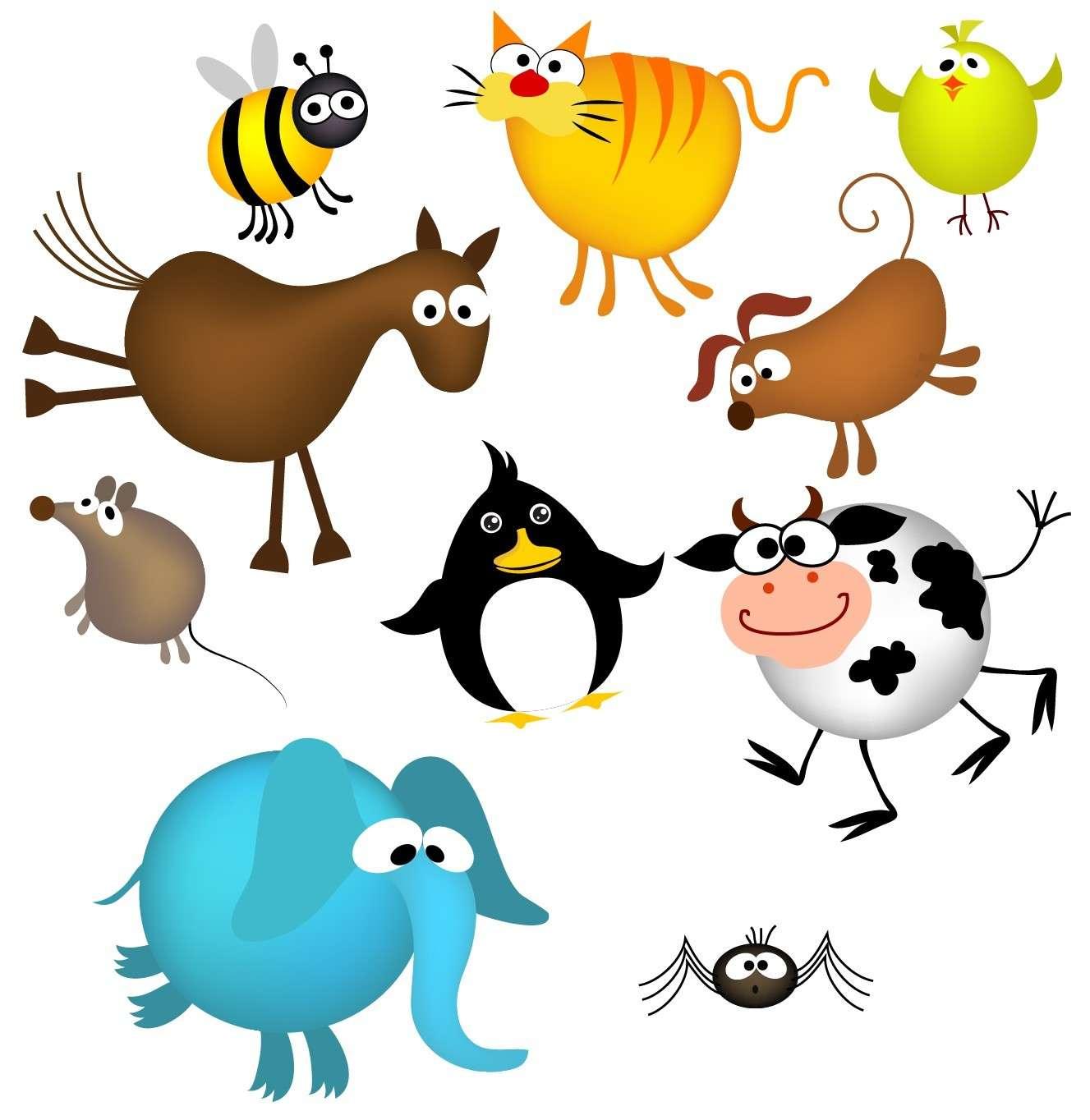 Cute Cartoon Animals 05 png