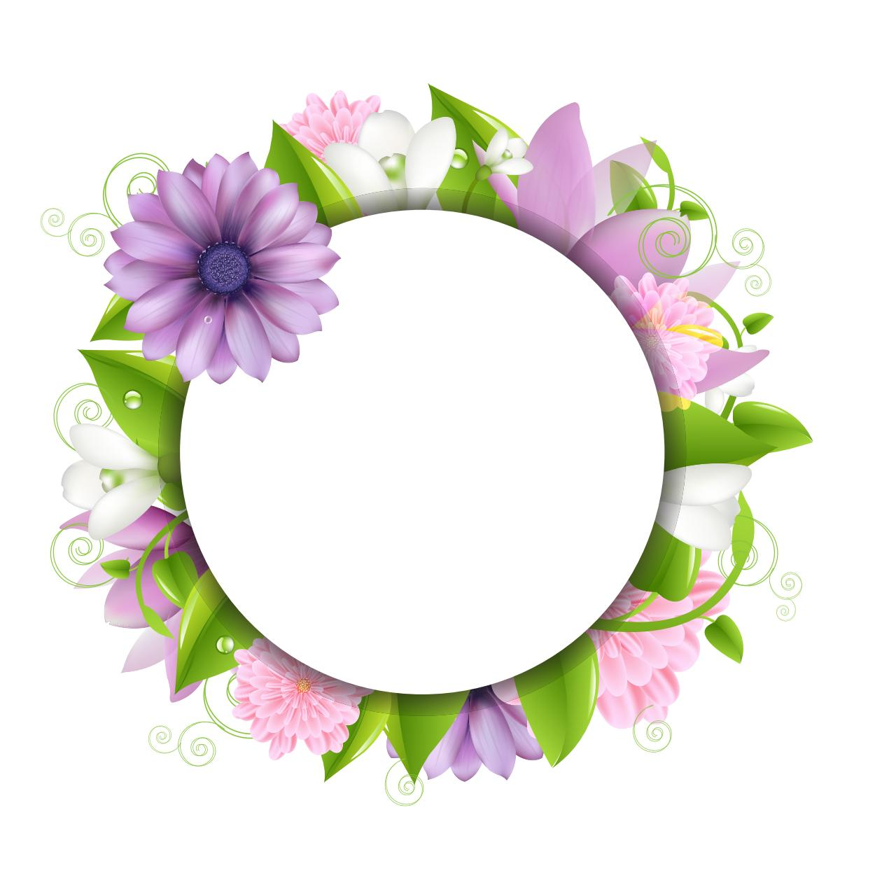Flower Background, Frame