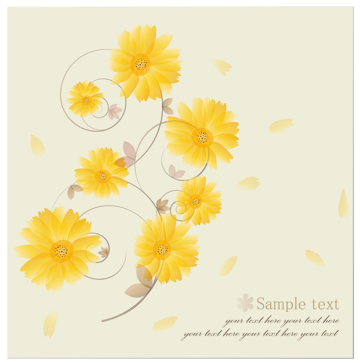 Flower Background 01 png
