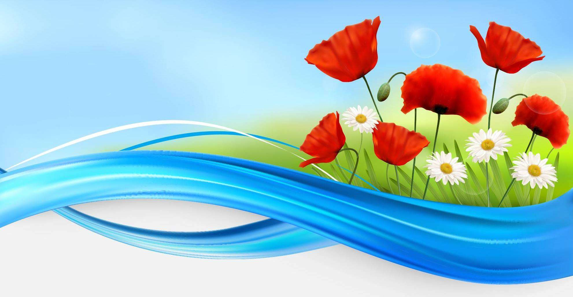 Flower Background 04